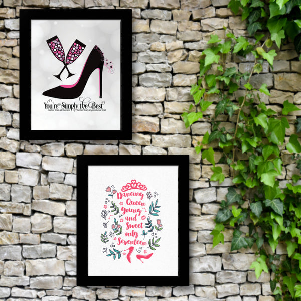 Simply the Beat by Tina Turner Song Lyric Inspired Print Poster Artwork