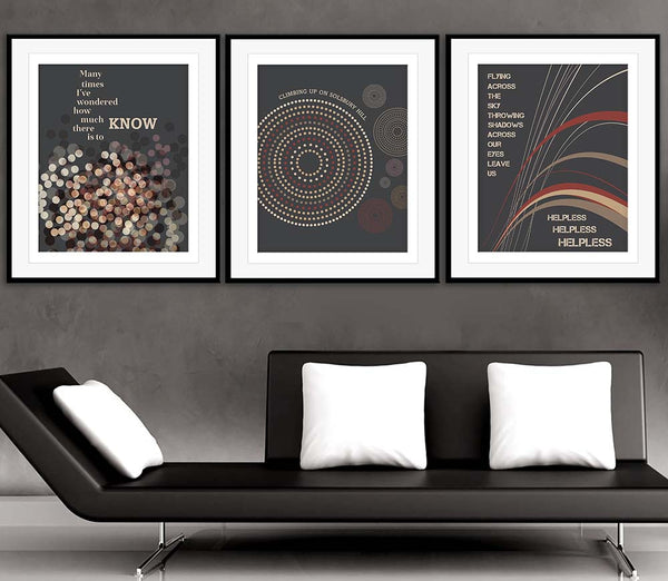 Solsbury Hill by Peter Gabriel Song Lyrics Art Music Poster Wall Decor