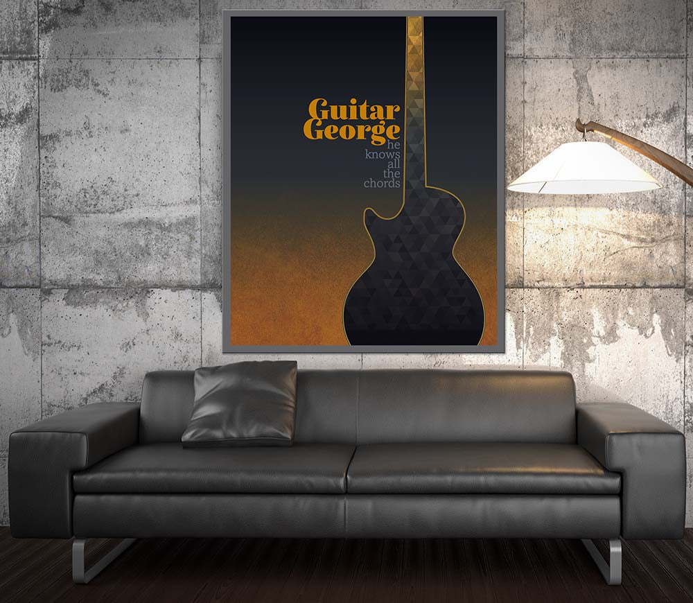 Dire Straits Sultans Of Swing Song Lyric Art Music Poster