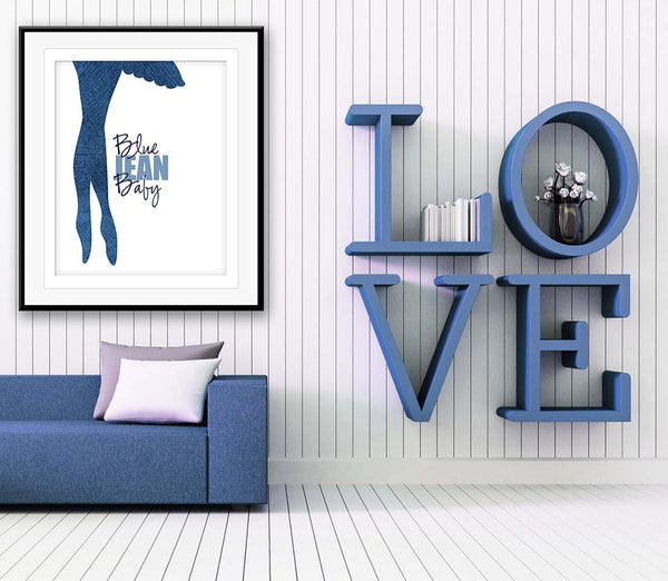 Tiny Dancer Elton John Lyrical Keepsake Artwork Decor Illustration