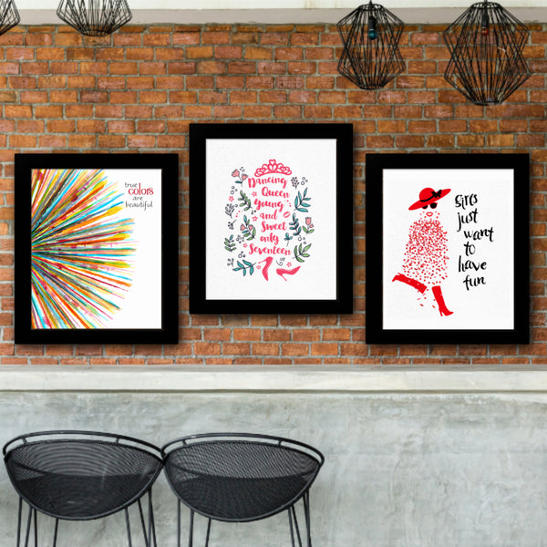 True Colors by Cyndi Lauper Song Lyrics Art Poster Print Wall Decor Gift for Music Enthusiasts