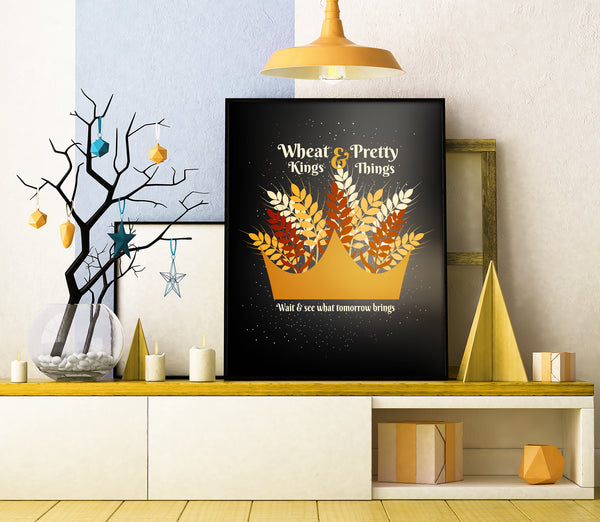 wheat kings tragically hip canadian band song lyrics art poster print wall decor