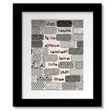 Another Brick in the Wall by Pink Floyd Song Lyric Classic Rock Print Wall Decor