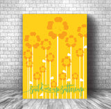 Pop Music Song Lyric Art - Build me up Buttercup by the Foundations