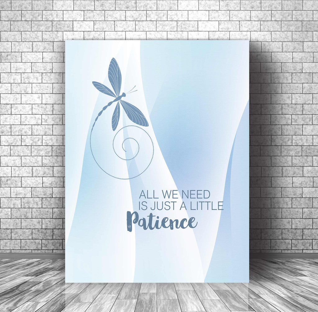 Song Lyric Poster Illustration Print Artwork - Patience by Guns n' Roses