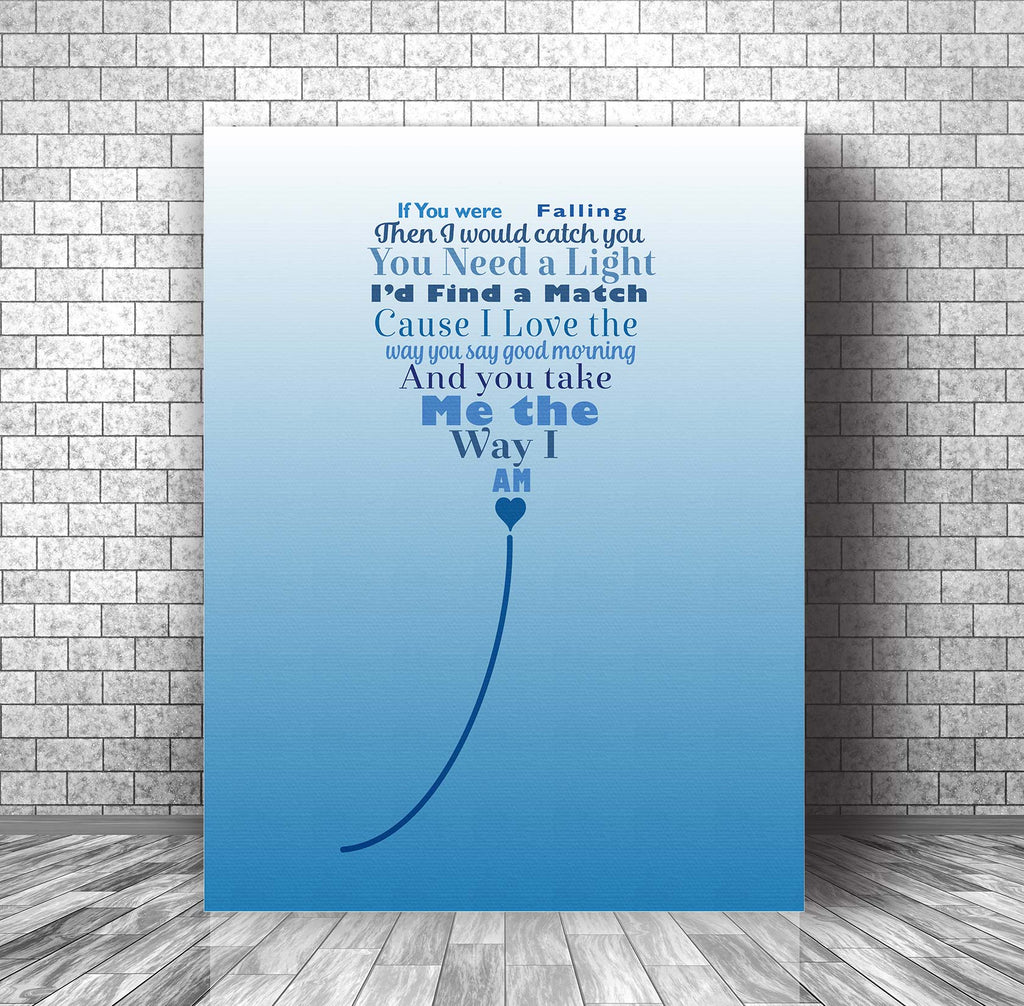 Ingrid Michaelson - The Way I Am - Music Lyrics Art - Wedding Song