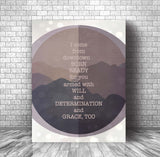 Grace Too by the Tragically Hip - Music Quote Wall Decor Birthday Gift Memorabilia