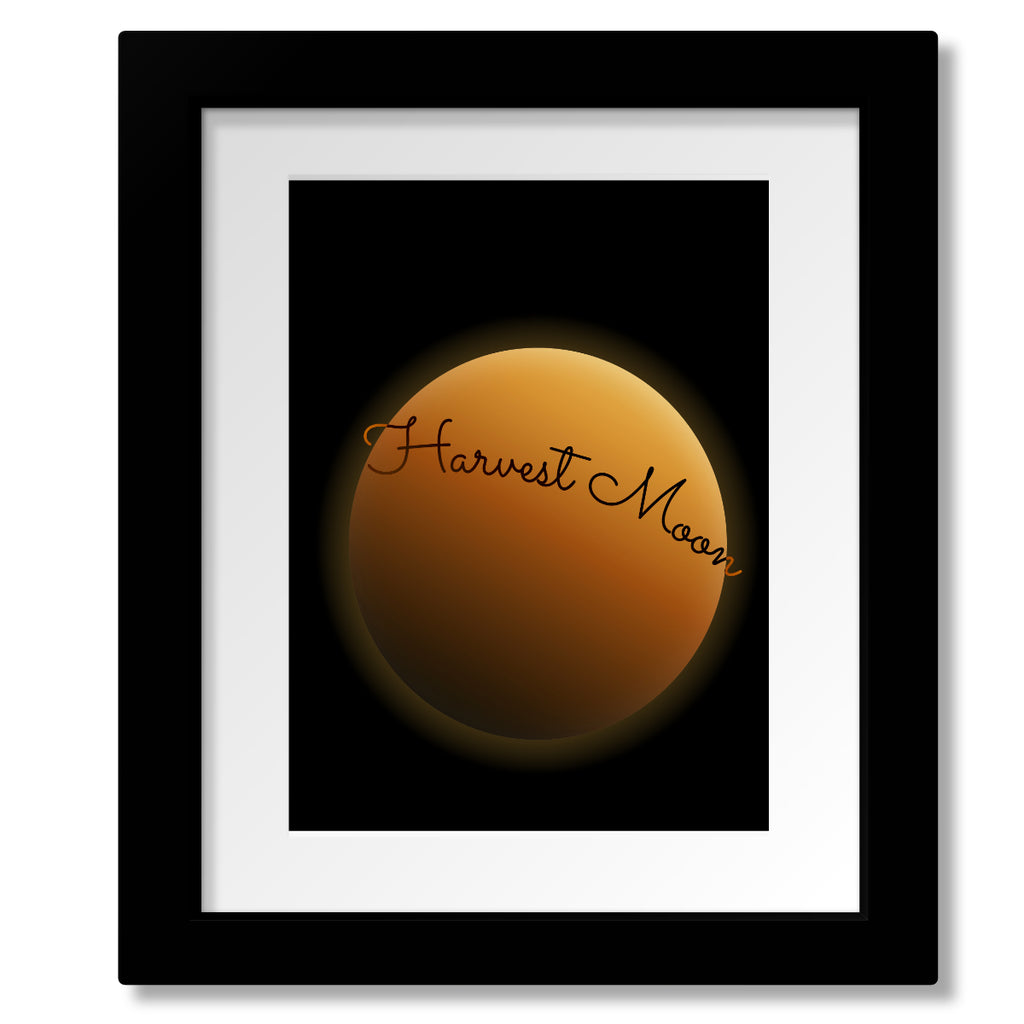 Music Enthusiast Song Lyric Print Poster - Harvest Moon by Neil Young