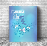 Mamma Mia by ABBA - Music Quote Wall Art Song Lyric Print Poster Gift