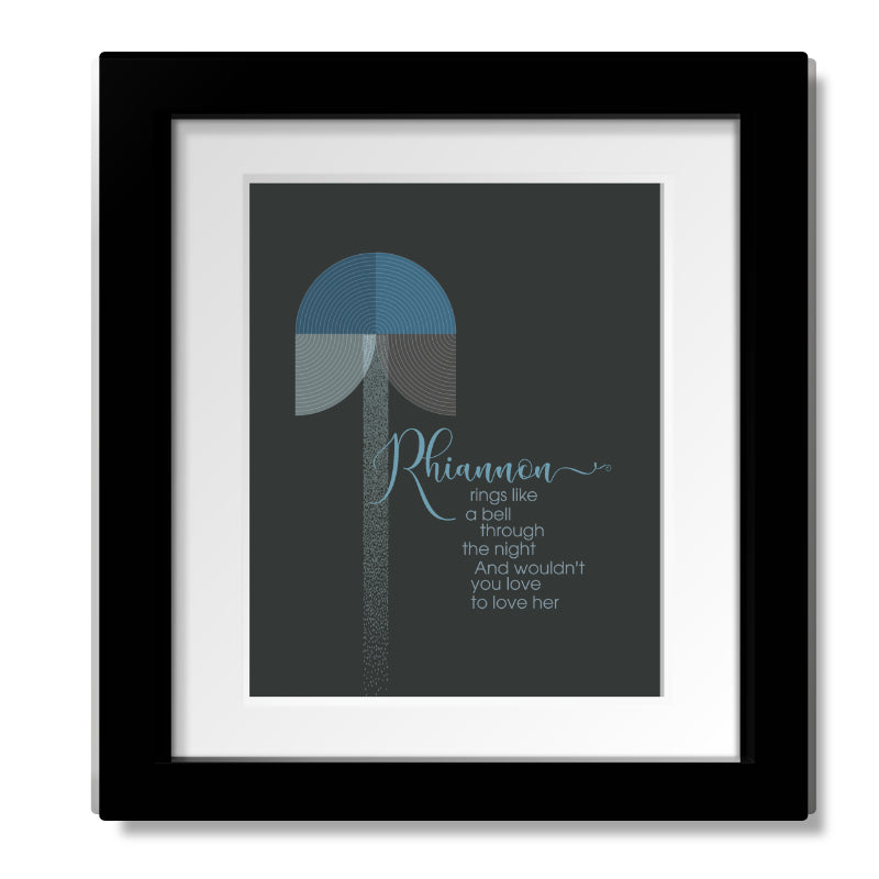 Fleetwood Mac • Go Your Own Way • Music Lyrics Art Poster