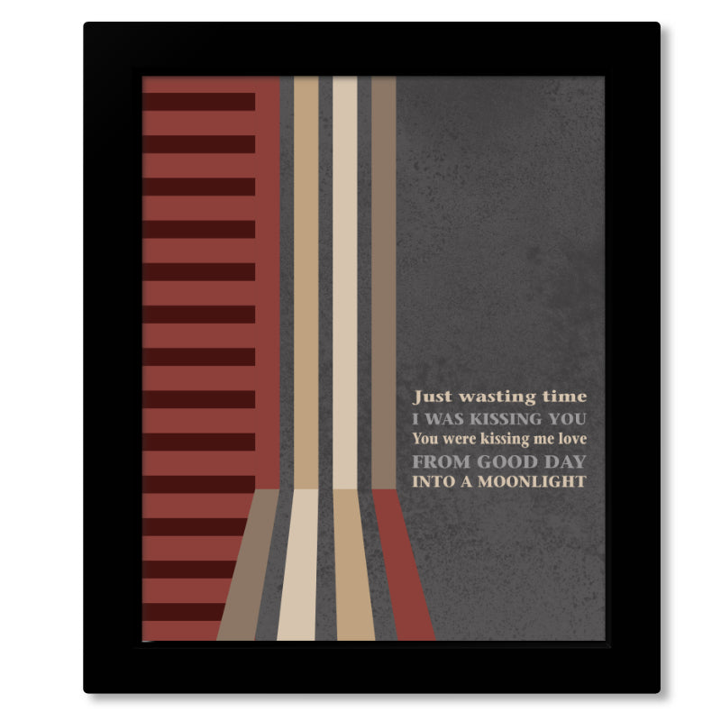 Stay (Wasting Time) by Dave Matthews Band - Classic Rock Music Song Lyric Art Decor - Print, Poster, Canvas or Plaque