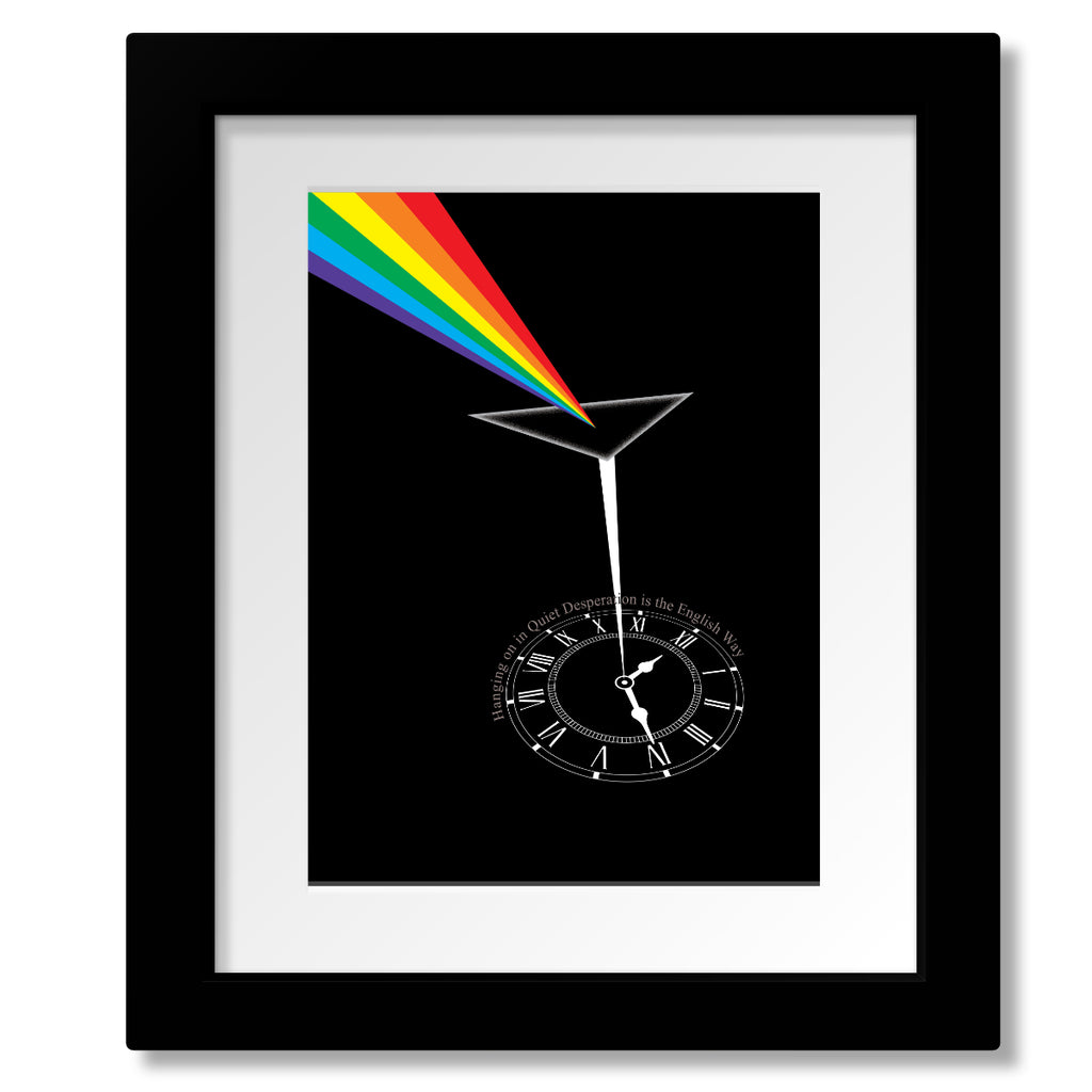 Time by Pink Floyd from Dark Side of the Moon Music Lyric Quote