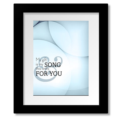70s Lyric Poster Music Quote Print Canvas - Your Song by Elton John