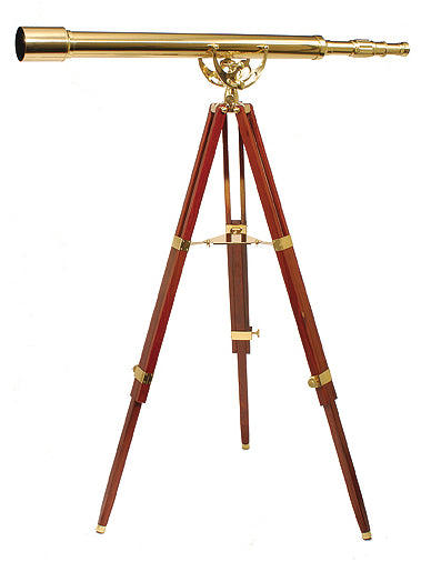 Helios FINE BRASS 6040 Traditional Solid Brass Telescope