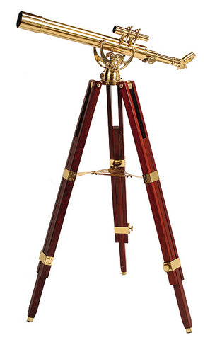 Helios FINE BRASS 60700 Traditional Solid Brass Telescope