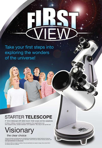 Visionary FirstView Table Top Telescope