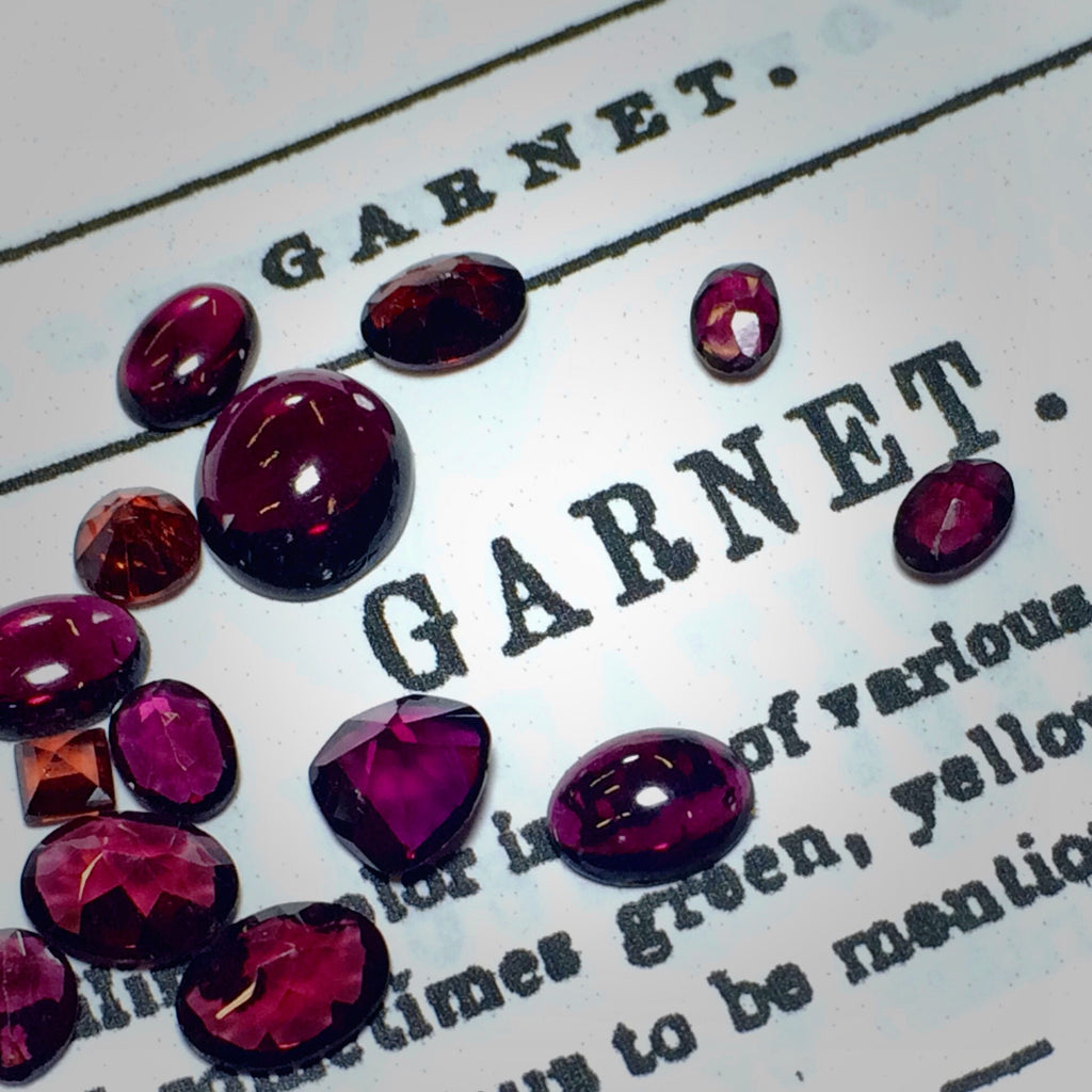 The Month of the Garnet. January, that is.