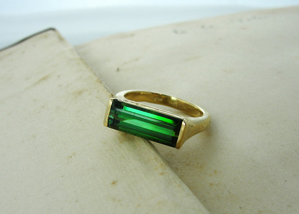 Maine Tourmaline, A Ring Story