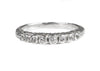 Lavinia Fancy Wedding Band, gold and diamonds, Heather Perry
