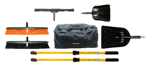 Telescopic Cleaning Tool Kit with Duffel Bag