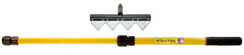 Telescopic Fire Rake 2 to 4 foot (Sheath included)