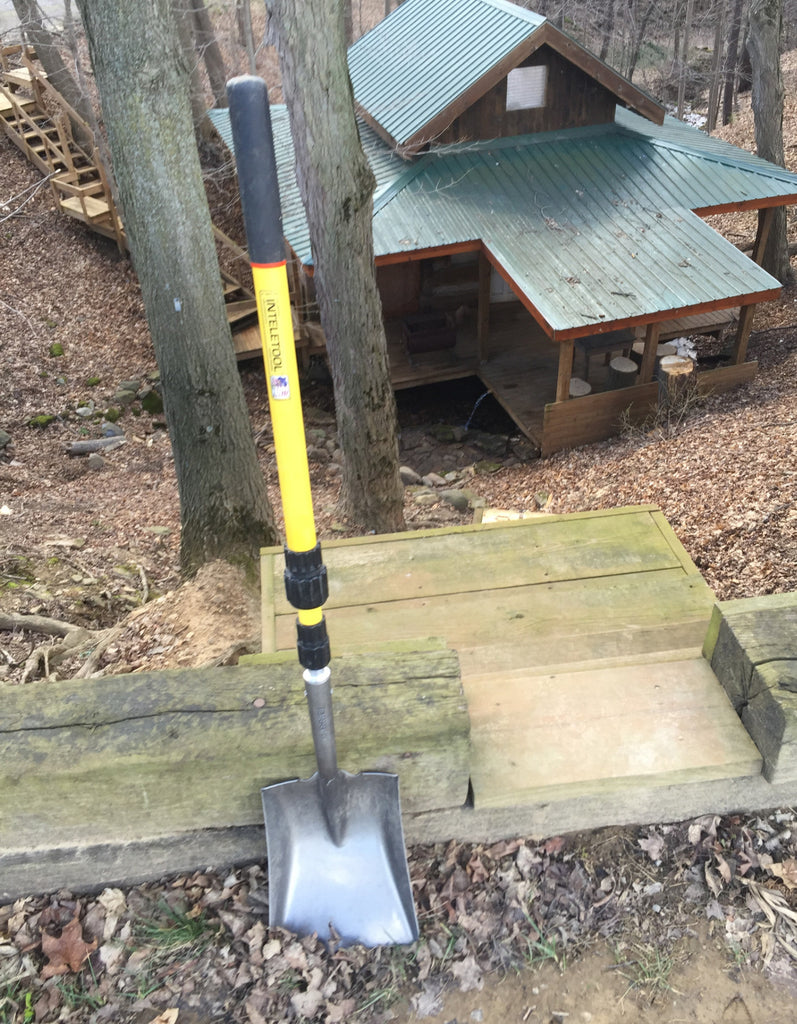 NEW! Telescopic Square Point Shovel 2 to 4 foot