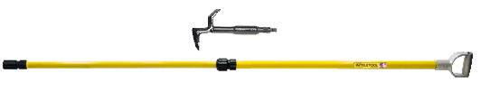 Telescopic New York Hook with D Grip 8 to 16 foot