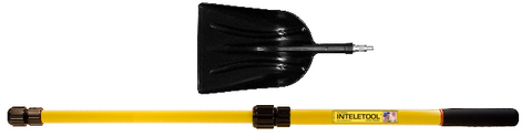 Telescopic Poly Scoop Shovel 2 to 4 foot
