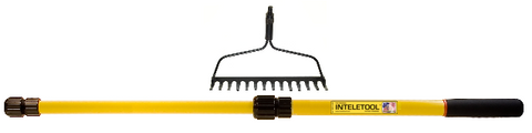 Telescopic Garden Rake 2 to 4 foot