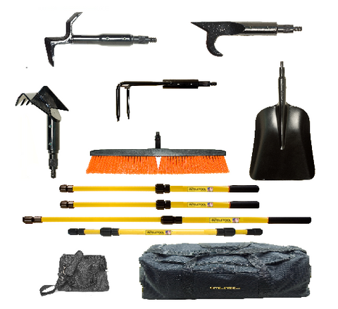 Telescopic Structural Fire Fighting Station Tool Kit with Duffel Bags