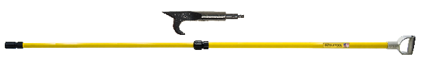 Telescopic USA Hook with D Grip 4 to 8 foot