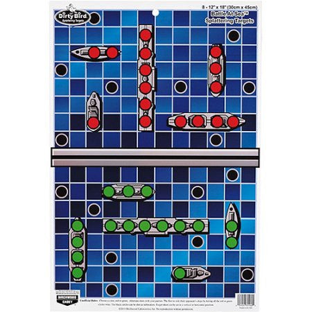 "PREGAME Targets: Battle At Sea 12""x18"" - 8 Pack"