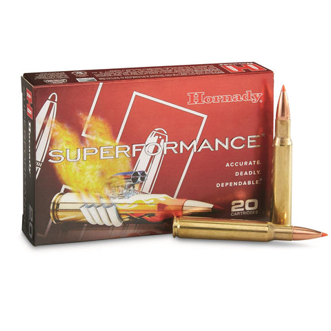Hornady Superformance .30-06 SPRINGFIELD 180gr SST - Pack of 20 Rounds