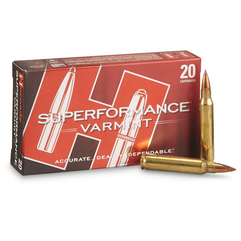 Hornady .223 REM Superformance Varmint 35gr NTX - Pack of 20 Rounds