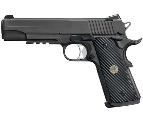 Sig Sauer 1911 Tacops Full Size .45 ACP Pistol. Rangeview Sports Canada.