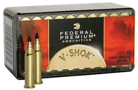 Federal Premium .17HMR 17gr Hornady V-Max Polymer Tip - Pack of 50 Rounds