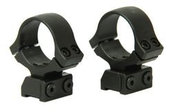 CZ 527 Steel Scope Rings 1""