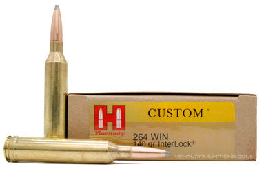 Hornady Custom .264 WIN 140gr 20rds