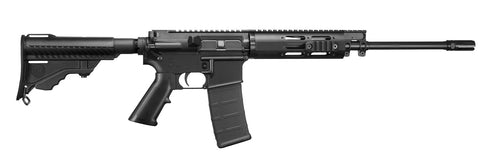 "DPMS Lite 16M AR-15 Semi Auto Rifle, 5.56 NATO, 16"" Barrel, M111 Hand Guard, Pardus Stock, Black"