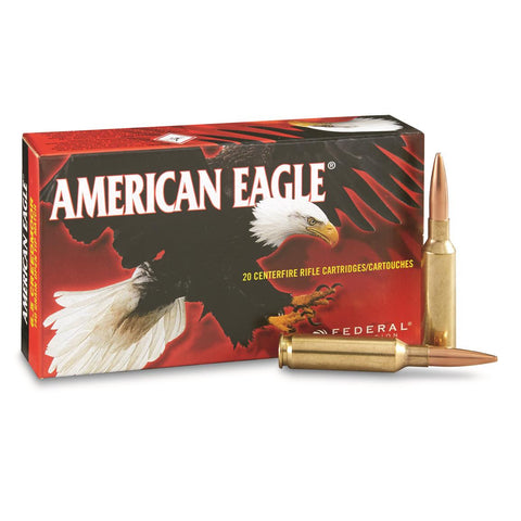 American Eagle 6.5 CREEDMOOR 140gr Open Tip Match - Pack of 20 Rounds