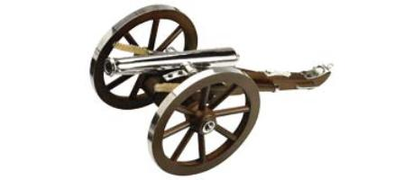 Traditions Mini Napoleon III Cannon