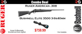 Ruger American .308 and Bushnell Elite 3500 3-9x40mm Combo