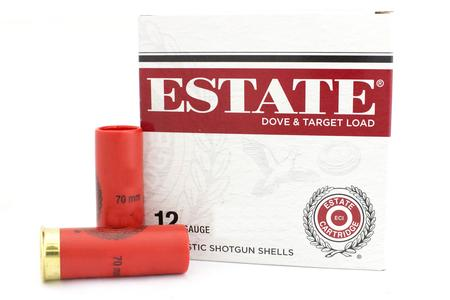 "Estate 12GA 2-3/4"" 1-1/8oz. #7.5 - 200 Round Flat"