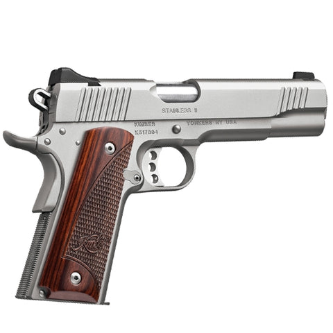 "Kimber 1911 Stainless II 9mm Luger 5"" Barrel"