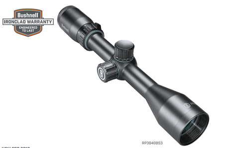 Bushnell Prime 6-18x50 Scope, Black