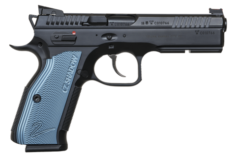 CZ-75 SP-01 Shadow 2 9mm LUGER Semi-Auto Pistol BLK