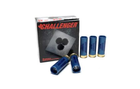 "12 GAUGE - CHALLENGER TARGET SLUGS, 2-3/4"" 1 OZ. LOW RECOIL 25ct"