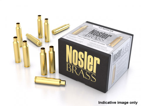 22 Nosler Brass 100pk case for sale in Canada.