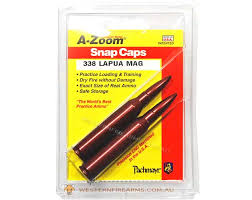 A-Zoom 338 Lapua Snap Caps 2PK