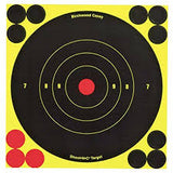 "Shoot-N-C Reactive Targets - 6 Targets 8"" Pack - Yellow"